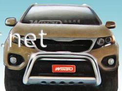 Защита переднего бампера - кенгурятник (A162510) Kia Sorentо 2010-…