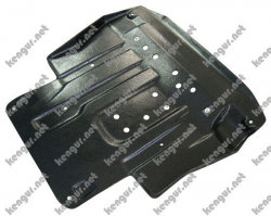 Защита двигателя Mitsubishi Outlander XL (2007-...)(металлическая)