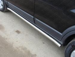 Пороги трубы Subaru Forester (08-13)