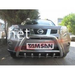 Защита переднего бампера - кенгурятник (Tamsan) Nissan X-Trail 2007-…