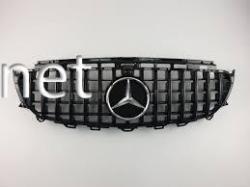 Решетка радиатора GT (all black) Mercedes W213 2016-...