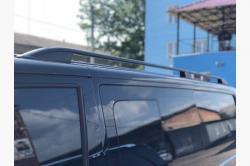 Рейлинги Volkswagen T5  Crown  черные RVWT5LXR