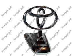 Эмблема на капот Toyota Land Cruiser 100 (хром)