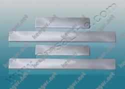 Хром накладки на внутрение пороги (нерж.) 2 шт. (купе)