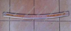 Накладка на задний бампер Nissan Qashqai 2007-...