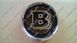 Эмблема Brabus W463 в решетку