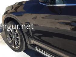 Жабры в крылья (черные) BMW X6 F16 2014-2018