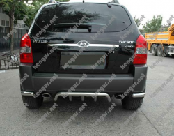 Защита заднего бампера Hyundai Tucson  Grill