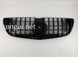 Решетка радиатора GT (all black) Mercedes Vito W447 2016-...