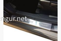 Накладки на пороги Mitsubishi ASX 2010-...