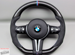 Карбоновый  руль на BMW X5M