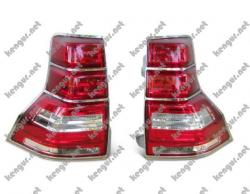 Задние фонари (диодные) на Toyota Land Cruiser Prado 150 8115160890+8156160830