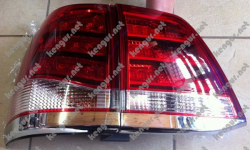 Задние фонари диодные Toyota Land Cruiser 200 (Стиль Lexus LX570) SK1600-TCRS08-S