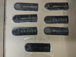 Эмблема  Brabus  на крышку запасного колеса
