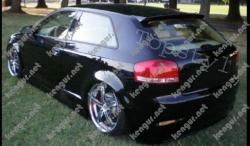 Спойлер на Audi A3 8P