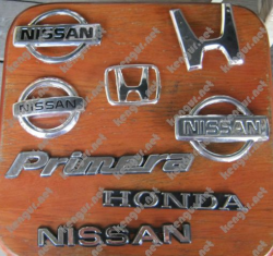 Значки эмблемы на Honda