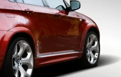 Накладки на пороги CarBodyDynamics на BMW X6 E71