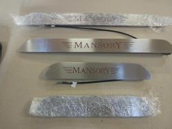 Накладки на пороги с подсветкой MansorY на Mercedes G-class W463
