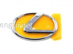 Эмблема в решетку (к обвесу рестайлинг) Lexus LX 2012-2015