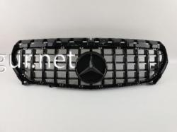 Решетка радиатора GT (black) Mercedes CLA W117 2014-2016 / 2016-2018