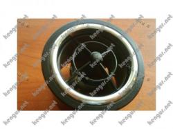 Хромированные кольца на обдувы Renault Duster