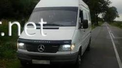 Дефлектор капота - мухобойка (VIP) Mercedes Sprinter 1995-2002
