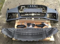 Бампер передний Audi A7 2016-2017, стиль RS7