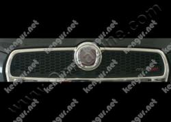 Хром накладки на решетку радиатора (нерж.) 2 шт. #796855