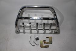Защита переднего бампера - кенгурятник Nissan Navara 2005-...