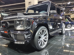 Обвес стиль Brabus 900 One of Ten WideStar с элементами карбона Mercedes-Benz G-Class W463