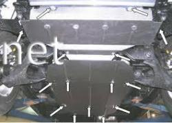 Защита двигателя Kia Sorento  2006-…