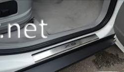 Хром накладки на пороги (Premium) BMW X5 E70 2007-2013