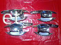 Накладки под ручки (мыльнички) Mitsubishi Pajero Sport 2009-…