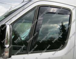 Дефлекторы окон  (ветровики) вставные под уплотнитель