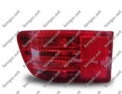 Задние противотуманки Toyota Prado120 (диодные) красные