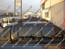 Рейлинги Toyota Hi-Lux (черные)
