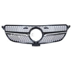 Решетка радиатора Diamond black (с местом под камеру) Mercedes GLE-Coupe C292 2015-...