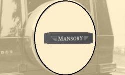 Карбоновая эмблема на чехол запасного колеса стиль Mansory Mercedes-Benz G-Class W463