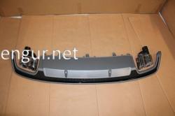 Диффузор заднего бампера Audi A7 2016-2017, стиль S7 (под обычный бампер)