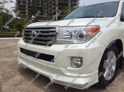 Докладка переднего и заднего бампера Toyota Land Cruiser 200