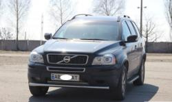 Защитная дуга по бамперу Volvo XC 90 (2002 - 2014) одинарная