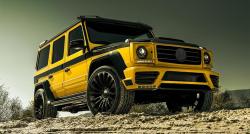 Обвес стиль Mansory Wide Mercedes-Benz G-Class W463