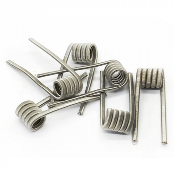 Fused clapton coil ni80 3*0.25 + 0.1 - фото 1