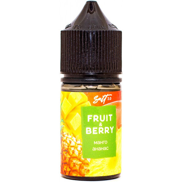 Omega liquid Fruit&Berry Манго и ананас Salt - фото 1