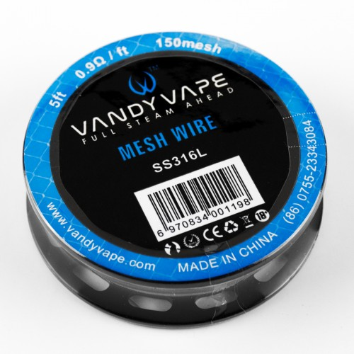 Vandyvape Mesh Wire SS316L 150mesh 5 см - фото 1