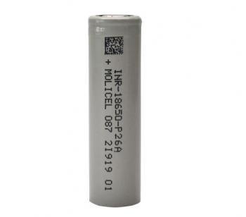 Molicel INR P26A 2600mah 35A - фото 1
