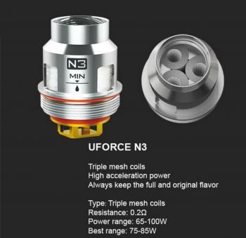 VOOPOO Uforce N3 Coils - фото 1