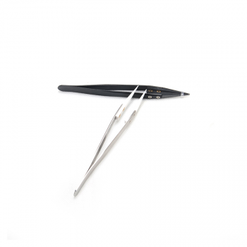 Vpdam White Straight Tip Tweezers - фото 1