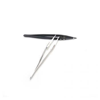 Vpdam White Straight Tip Tweezers - фото 1