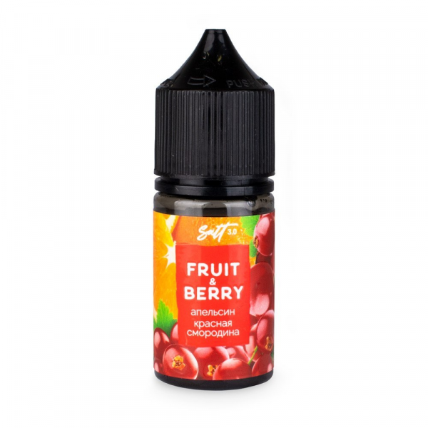 Omega liquid Fruit&Berry Апельсин и красная смородина Salt - фото 1